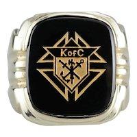 Vintage Knights of Columbus Ring