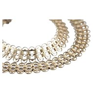 Vintage Gold Fill Choker Chain