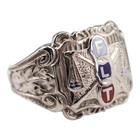 Vintage Independent Order of Odd Fellows Ring