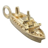 Keepsake Charm, The Sun Princess Ship Charm or Pendant