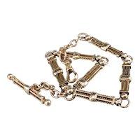 Antique Heavy Pocket Watch Chain