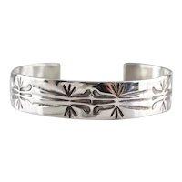 Southwestern Patterned Cuff Bracelet