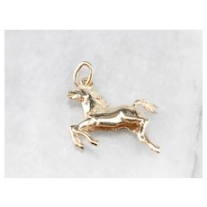 Vintage Jumping Horse Charm
