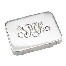 Tiffany & Co Monogrammed Pill Box