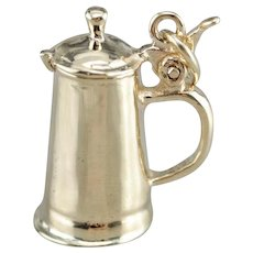 Vintage Coffee French Press Charm