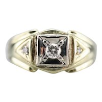 Men's Retro Era Diamond Ring