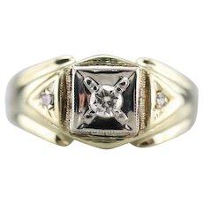 Men's Retro Era Diamond Ring