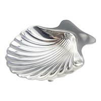 Vintage Tiffany and Company 925 Sterling Silver Scallop Shell Dish