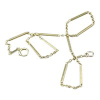 Vintage Bar Link Watch Chain