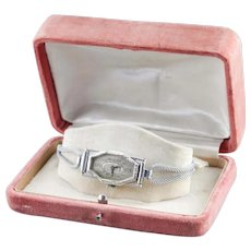 Vintage Ladies Flint Wrist Watch