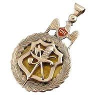 Antique Masonic Tote Medallion
