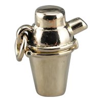 Shaken not Stirred, Vintage Martini Shaker Charm