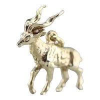 Vintage Ibex Charm or Pendant
