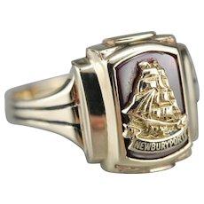 Vintage Newburyport Class Ring