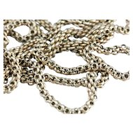 Antique Flat Link Panther Chain