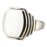 Ostby and Barton Men's Signet Ring
