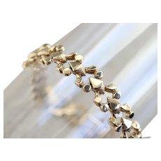 Victorian Style Revival Link Bracelet