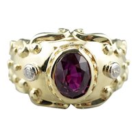 Stunning Ruby and Diamond Statement Ring