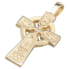 Unisex Celtic Cross Pendant