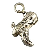 Vintage Cowboy Boot Charm