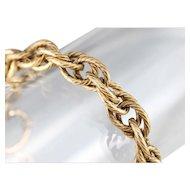 Lovely Antique Link Chain Bracelet