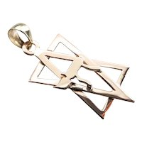 Unisex Star of David L'chaim Pendant