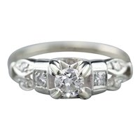 Stunning Retro Era Diamond Ring