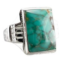Turquoise Men's Statement Ring
