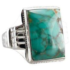 Turquoise Men's Statement Ring