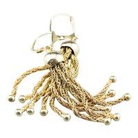 Victorian Revival Tassel Drop Earrings