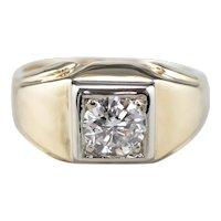 Retro Diamond Men's Ring