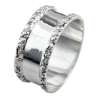 Stieff Antique 925 Sterling Silver Napkin Ring