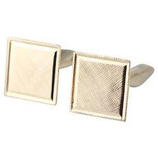 Handsome Textured Square Top Cufflinks