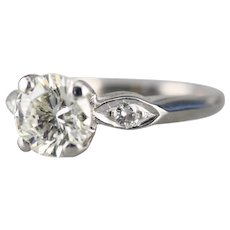 Lovely 1940's Transition Cut Diamond Ring