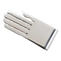 Hand 925 Sterling Silver Money Clip
