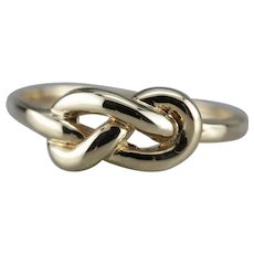 Vintage Lover's Knot Band