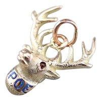 Men's Vintage Elks Club Fob or Pendant