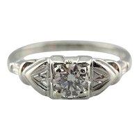 High Fashion Diamond Engagement Ring