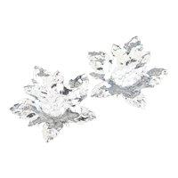 925 Sterling Silver Maple Leaf Dish Set
