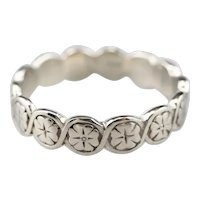 Pretty Floral Pattern Band