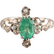 Lovely Emerald Dinner Ring