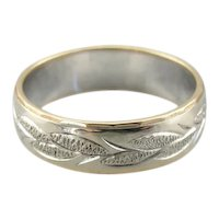 Wheat Harvest Wedding Band by Keepsake