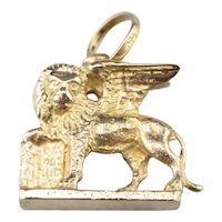 Winged Lion of Saint Mark Charm or Pendant