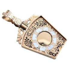 Antique Masonic Watch Fob Pendant