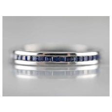 Tiffany and Co. Sapphire Eternity Band