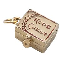 Vintage Hope Chest Charm