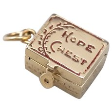 Vintage Hope Chest Charm