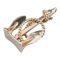 Stockless Anchor Pendant Fob