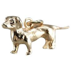 Vintage Dachshund Dog Charm