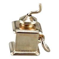 Old Fashion Coffee Grinder Charm